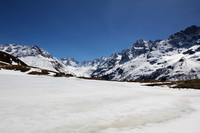 "art, ""christine lewis photography"", decor, fine, france, home, print, la meije, frozen lake, french alps, mountains"