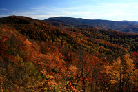 "NC, ""North Carolina"", ""cherohala skyway"", color, fall, overlook, ""smoky mountains"""