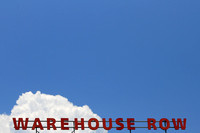 Chattanooga, TN, Tennessee, art, blue, center, clouds, decor, home, letters, negative, photograph, pictures, print, red, row, shopping, sky, space, warehouse