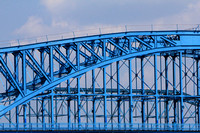 Chattanooga, abstract, art, blue, bridge, bridge, bridge, clouds, decor, home, layered, market, pedestrian, print, sky, st, st, tennessee, tn, walnut