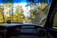 "Blue, ""Christine Lewis Photography,"", Parkway, Ridge, art, decor, fine, home, outdoor, photography, print, scenic, corvette, road"