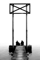 "B&W, chattanooga, children, ""christine lewis photography"", dock, families, family, interaction, joy, kids, lifestyle, love, monochrome, photography, tennessee, tn"