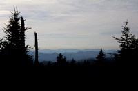 """Blue Ridge Parkway"", ""Christine Lewis Photography,"", Parkway, art, decor, fine, home, mountains, outdoor, overlook, photography, print, scenic, silhouette"