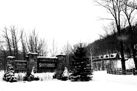 "B&W, b&b, ""bed and breakfast"", ""black and white"", ""christine lewis photography"", ""fine art"", monochrome, ""morning glory inn"", slatyridge, snow, snowshoe, vintage, ""west virginia"""