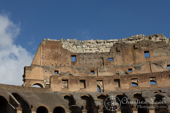 "rome, italy, colosseum, ""christine lewis photography"", travel, ancient"
