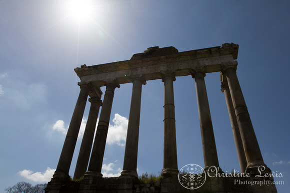 "rome, italy, ""christine lewis photography"", travel, roman forum, ancient, ruins, temple of saturn"