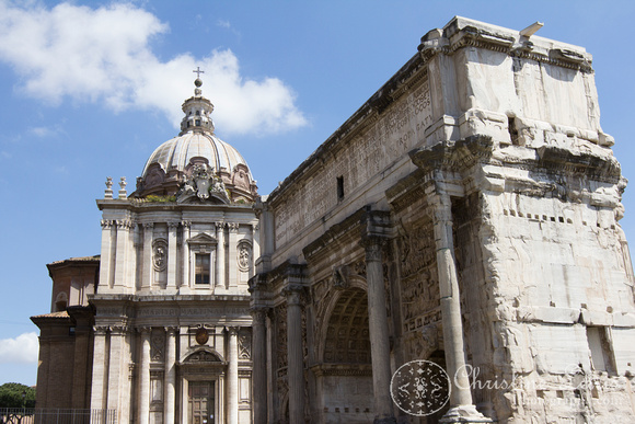 "roman forum, rome, italy, ancient, ""christine lewis photography"", home decor, fint art print"