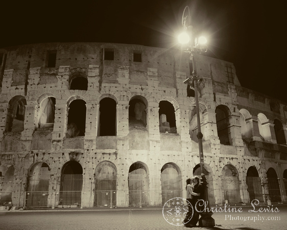 "rome, italy, colosseum, ""christine lewis photography"", night, long exposure"