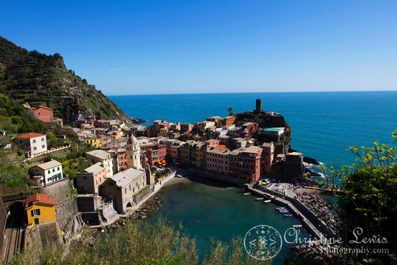 "vernazza, cinque terre, italy, travel, ""christine lewis photography"", home decor, fine art print, unesco world heritage site"