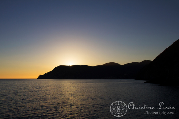 "cinque terre, italy, travel, ""christine lewis photography"", home decor, fine art print, unesco world heritage site, ligurian sea, mediterranean, vernazza, sunset, belforte"