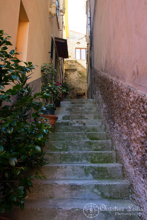 "italy, cinque terre, travel, ""christine lewis photography"", home decor, fine art, corniglia, stairs, side street"