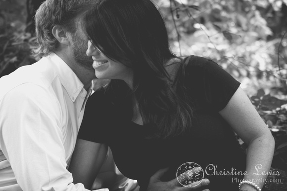 "maternity session photo shoot portraits chattanooga, tn ""christine lewis photography"" natural outdoor black and white"
