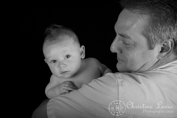 "family portrait baby chattanooga, tn hixson ""christine lewis photography"" 3 months old"