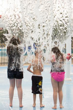 "children portrait photographer chattanooga tn warner park spray and play ""christine lewis photography"" birthday party boy"