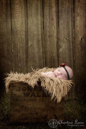 "newborn portrait photo shoot chattanooga, tn, ""christine lewis photography"", natural, vintage, outdoor, box, johnny walker"