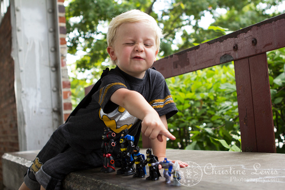"batman photo shoot, portrait, toddler, three years old, boy, chattanooga, tn, ""christine lewis photography"", action figures"