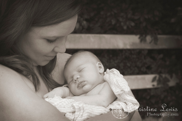 """newborn portrait photo shoot chattanooga, tn, """"christine lewis photography"""" outdoor, natural, family"""