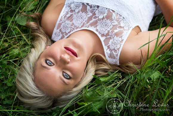 """junior portrait, photo shoot, session, outdoor, natural, girl, """"christine lewis photography"""", field, white"""