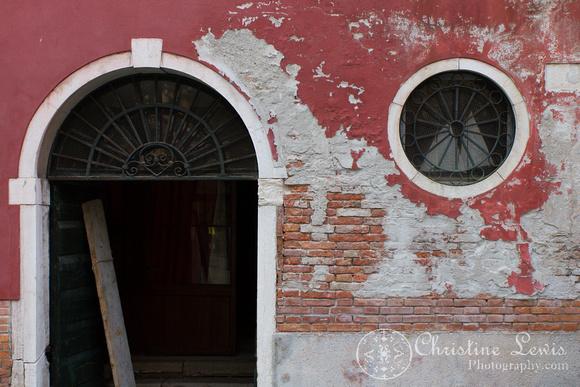 "venice, italy, travel, ""christine lewis photography"", fine art print, home decor, window, red, door"