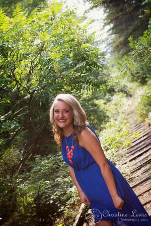 "junior portrait, photo shoot, session, outdoor, natural, girl, ""christine lewis photography"", railroad, tracks, blue, orange"