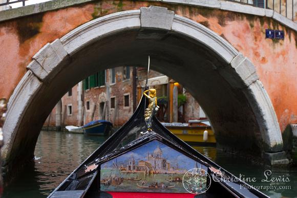 "italy, venice, travel, ""christine lewis photography,"" home decor, fine art print, gondola ride, bridge, pink"