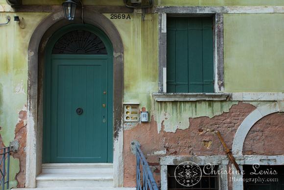 "venice, italy, travel, ""christine lewis photography"", fine art print, home decor, window, green, door"