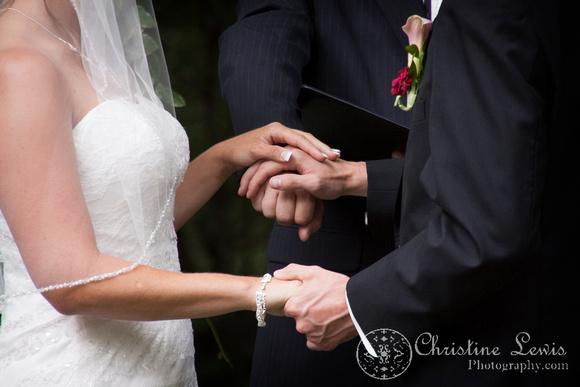 "Atlanta wedding, ""Christine lewis photography"" Chattanooga, TN, professional, bride and groom, ceremony detail"