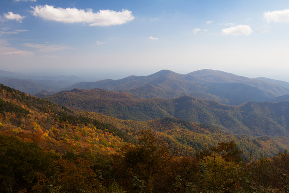 """Blue Ridge Parkway"", ""Christine Lewis Photography"", Parkway, art, decor, fine, home, mountains, outdoor, photography, print, scenic, fall, overlook"