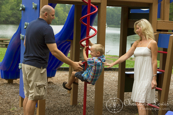 family photo shoot, Chattanooga, tn, Booker T Washington Park, Harrison Bay, professional, outdoor, natural, playground, lifestyle, playing