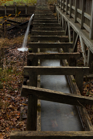 """""""Blue Ridge Parkway"""", """"Christine Lewis Photography"""", Parkway, art, decor, fine, home, outdoor, photography, print, scenic, historic site, gristmill, mabry mill, virginia, time lapse, fall"""
