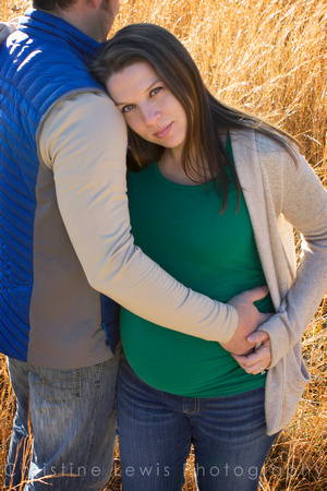 "maternity professional photographs Chattanooga, TN outdoor natural ""Christine Lewis Photography"" self portraits"