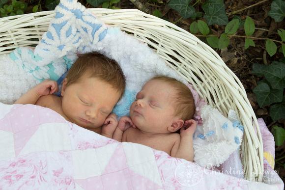 "newborn photography, twins, chattanooga, tn, portraits, ""christine lewis photography"", baby"