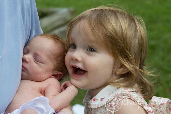 "newborn photography, chattanooga, tn, portraits, ""christine lewis photography"", baby, big sister"