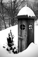 "b&w, ""black and white"", ""christine lewis photography"", ""fine art"", lamp, light, monochrome, snow, snowshoe, ""west virginia"""