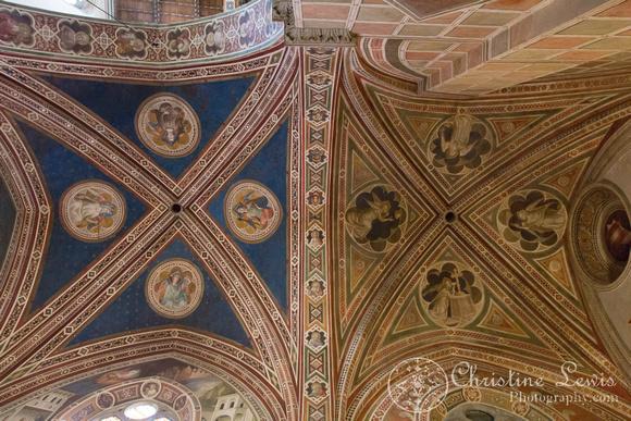 "Florence, Italy, travel, ""christine lewis photography"", fine art print, home decor, santa croce, ceiling"
