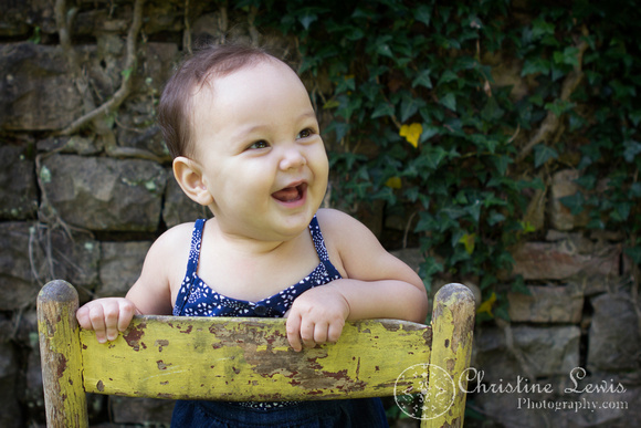 baby photography, girl, children, six months old, chattanooga, tn, portrait, photographer, craven