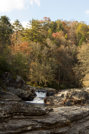 """Blue Ridge Parkway"", ""Christine Lewis Photography,"", Parkway, art, decor, fine, home, outdoor, photography, print, scenic, Linville falls, waterfall, fall"