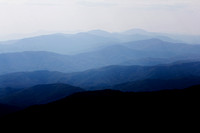 """Blue Ridge Parkway"", ""Christine Lewis Photography,"", Parkway, art, decor, fine, home, mountains, outdoor, photography, print, scenic, blue, overlook"
