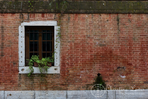 "italy, venice, travel, ""christine lewis photography,"" home decor, fine art print, detail, brick"