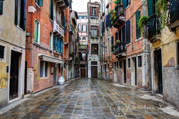 "italy, venice, travel, ""christine lewis photography,"" home decor, fine art print, red, street"