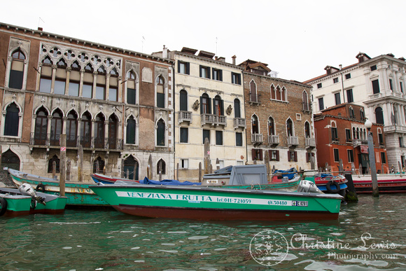 "italy, venice, travel, ""christine lewis photography,"" home decor, fine art print, gondola ride, grand canal, green boat"