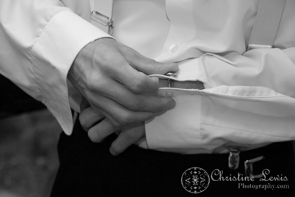 "Atlanta wedding, ""Christine lewis photography"" Chattanooga, TN, professional, getting ready, groom, cuff links, detail"
