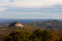 """Blue Ridge Parkway"", ""Christine Lewis Photography,"", Parkway, art, decor, fine, glass, home, looking, mountains, outdoor, overlook, photography, print, rock, scenic"